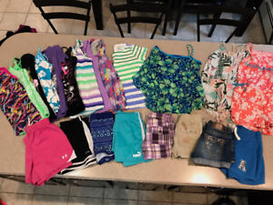 Girls Size 10 Summer Clothing Lot -size 10 - excellent condition