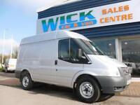 2012 Ford TRANSIT 330 SWB FWD MHR 125ps Van *SILVER* Manual Medium Van