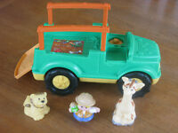 Fisher Price Little People Safari Set