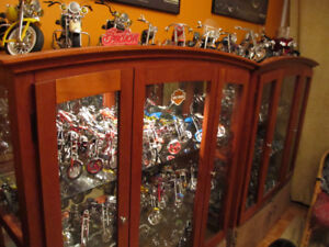 Collection of motorcycles replicas.