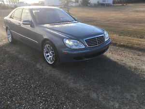2005 Mercedes-Benz S430 trade for project car