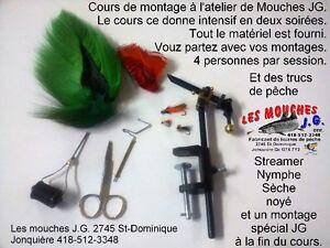 Cours de montage de mouches Saguenay Saguenay-Lac-Saint-Jean image 1