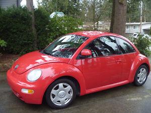 1998 Volkswagen New Beetle Sedan