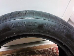 4x goodyear eagle sport tires brand new pull offs 245 50 18