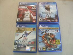 FOUR  PS4 VIDEO GAMES
