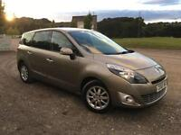 2010 60 Renault Grand Scenic 1.5 DCI Privilege Diesel, 63k miles from new.