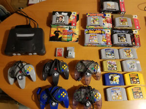 Original owner N64 Console, Games and Controllers - all for sale