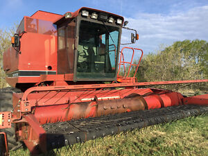 1680 case self propelled combine
