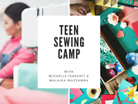 Teen Sewing Camp (July 23rd - July 27th)
