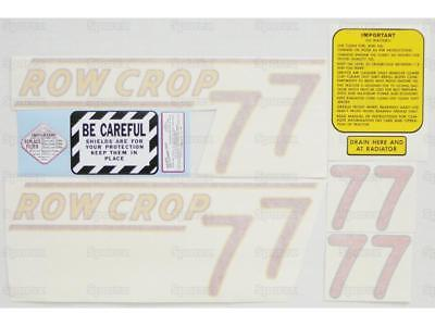 Oliver 77 Row Crop Tractor Complete Decal Set Die-cut Vinyl Labeltransfers Kit