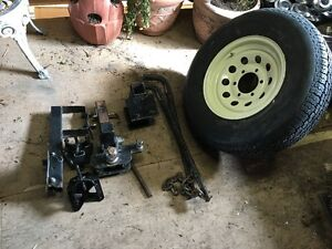 Trailer Weight Distrubation System/Spare Tire