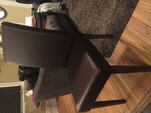 2 Leather chairs-New, never used London Ontario image 2