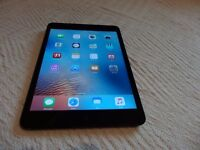 ipad mini 1, 16gb, charger & leather case in near mint condition. Minor scratches on edges £130 ono