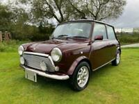 RARE ROVER MINI AUTOMATIC 40TH ANNIVERSARY EDITION IN MULBERRY * FULL LEATHER *