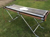 Commercial large 6 foot cinders barbecue BBQ