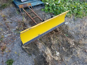 Atv plow with mount