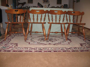 Set of 4 Roxton Dining Room Cairs