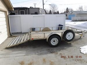 2012 Aluminum trailer 6.5 ft x 10 ft