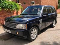 2008 Land Rover Range Rover 3.6TD V8 auto Vogue, MOT JUNE 2019, TOW BAR, SAT NAV