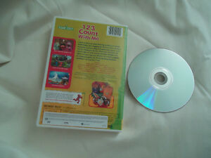 123 Count With Me Sesame Street DVD Kingston Kingston Area image 3