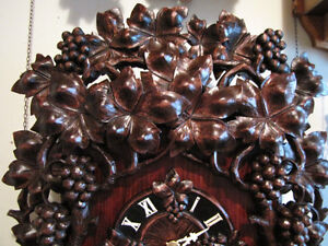 Hand carved , unique wall clock. London Ontario image 2