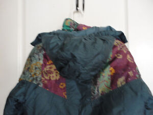 Girl's Nevada blue teal coloured jacket coat hood Size XL 14 London Ontario image 7