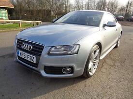 2011 Audi A5 2.0 TDI S Line Quattro 2dr