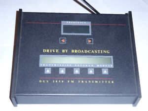 Drive By Broadcasting Unit DGX 1050 FM Transmitter
