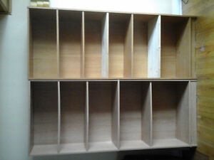 Four bookcases - Very good condition