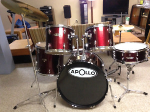 Complete APOLLO Drum Set with Cymbals