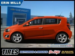 2013 Chevrolet Sonic LT  Sunroof Alloys Appearance Pkg Bluetooth