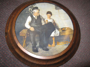 Norman Rockwell The Lighthouse Keeper's Daughter Collector Plate