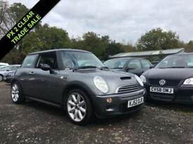 2002 52 MINI HATCH COOPER COOPER S 1.6 3DR 161 BHP SUPERCHARGED