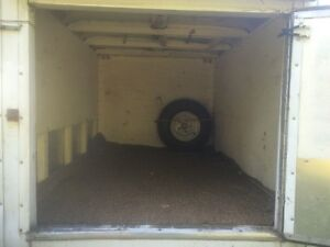 4x6 Enclosed Cargo Trailer