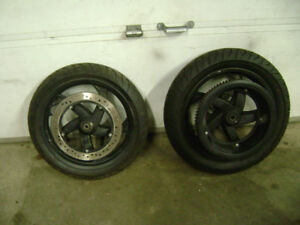 2009 Buell Blast Wheels With Tires And Rotors $250