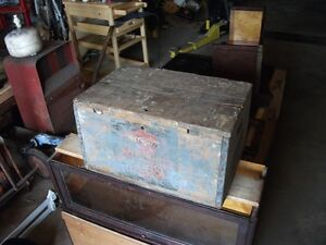 Frank Jones Portsmounth Ale wooden case Belleville Belleville Area image 9