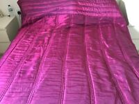 Large quilted throw