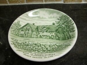 Staffordshire Small Plate Anne of Green Gables PEI by Wood & Son