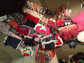 Girls & Baby clothes Ranging 0-2 years