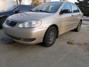 Selling 2008 Toyota Corolla