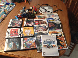 Wii and DS games