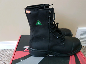 Safety Boots (Bnew) Size 8