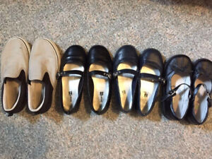Casual/dressy/occasion boy and girl shoes (size 12-2)