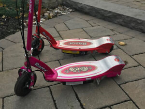 Razor Electric Scooters For Sale $60 each or both for $100