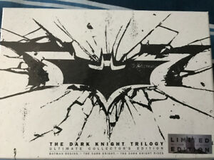 The Dark Knight Trilogy Limited Edition for Sale