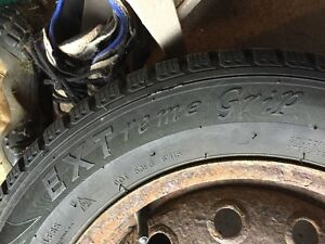 NEW PRICE 185/65/R14 WINTER TIRES FOR SALE!!!! Kitchener / Waterloo Kitchener Area image 4