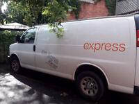 Your advertising on my cargo van!