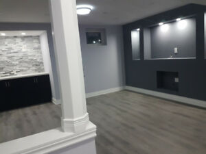 BEAUTIFUL 2 BEDROOM BASEMENT FOR RENT - AJAX. AVAILABLE NOW
