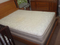 bed mattress, dressers for only 200 $