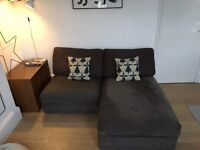 Ikea kivik sofa with chaise